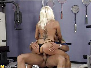 французское пожилое порно
