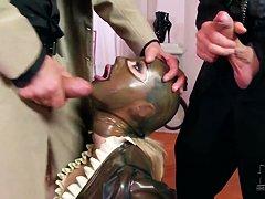 Латекс рабыня видео