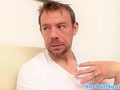 Порно служанка ихозяика в чулках смотреть