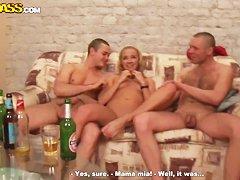русский ганг банг секс