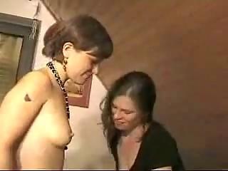 Порно русское лесбиянки страпон